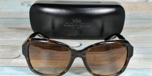 Coach Sunglasses Only $54 Shipped (Regularly $180)