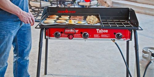 Camp Chef Tahoe 3-Burner Propane Camp Stove w/ Griddle Only $134.99 Shipped