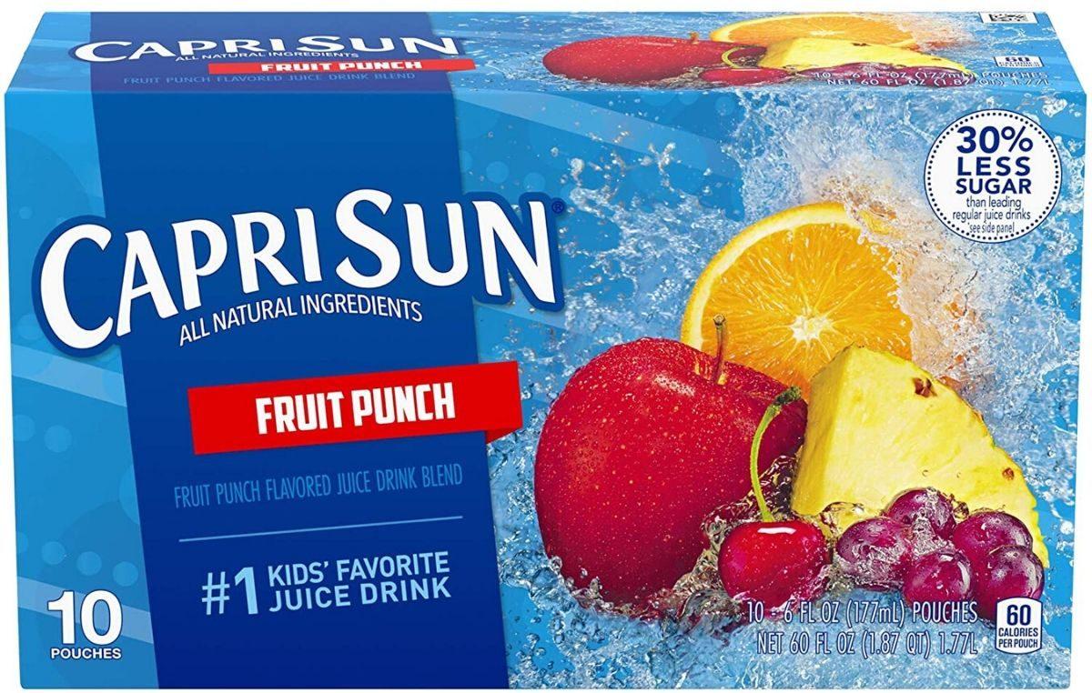 Capri Sun Fruit Punch 10-Count Box