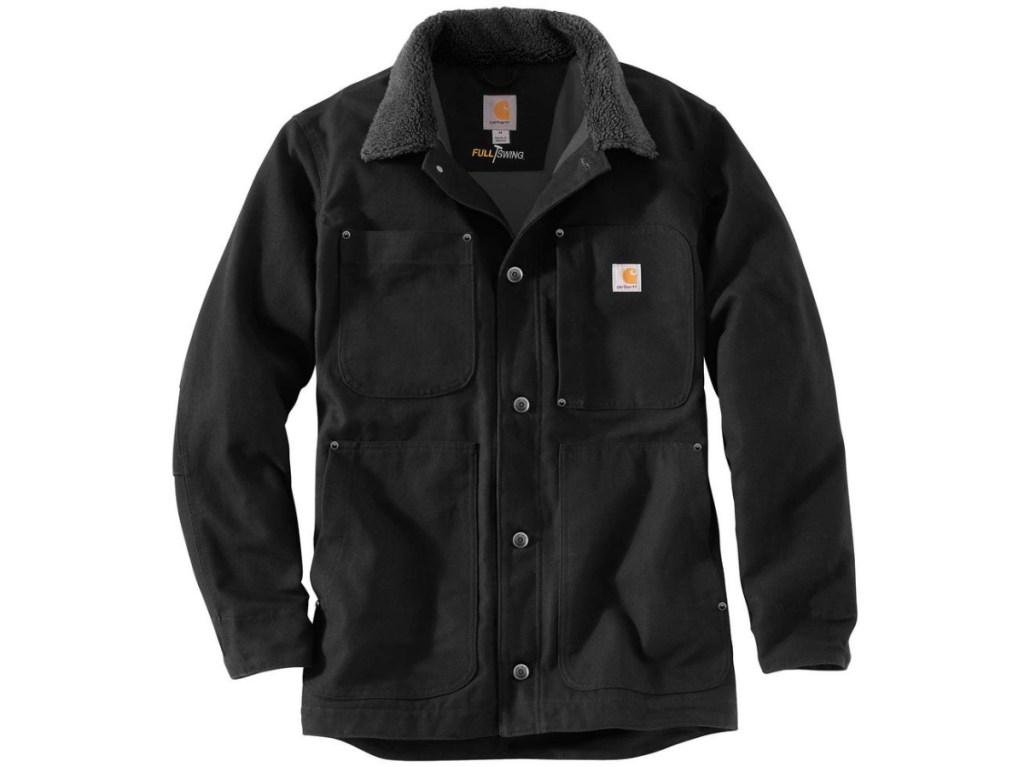 black men's chore coat