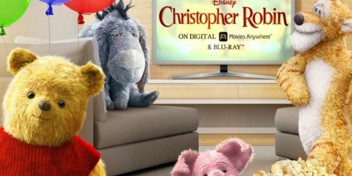 Disney's Christopher Robin Blu-Ray + DVD Only $7.96 on Amazon (Regularly $20)