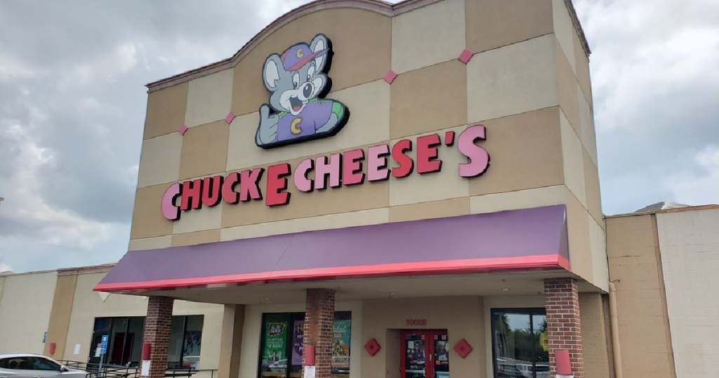 Chuck E Cheese storefront