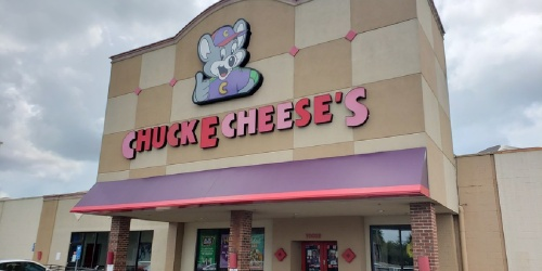 FREE Chuck E. Cheese Treat Bags for Kids in Costume | Includes Rechargeable Play Band, Candy & More