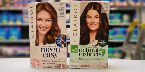 High Value $5/2 Clairol Hair Color Printable Coupon