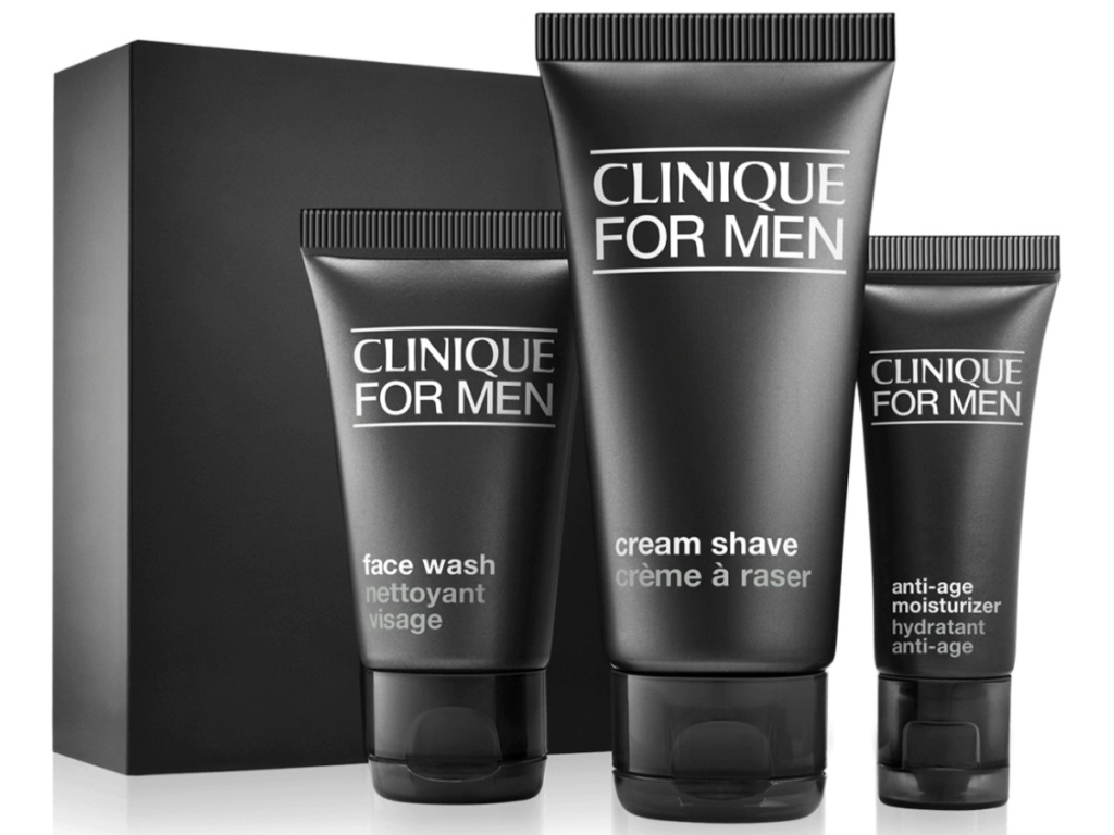 Clinique for men skincare