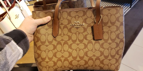 Coach Totes Only $124.98 Shipped (Regularly up to $428)