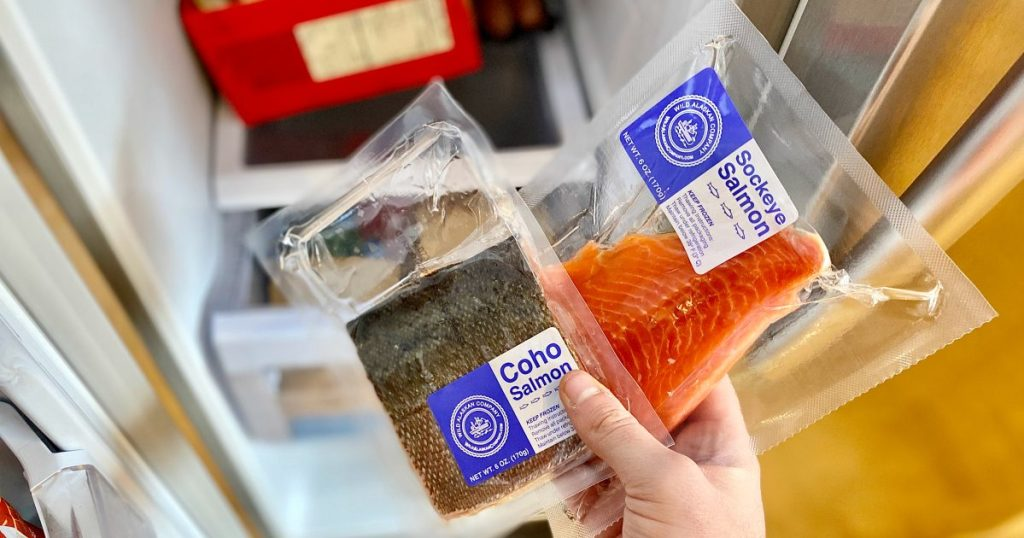 wild alaskan salmon packages