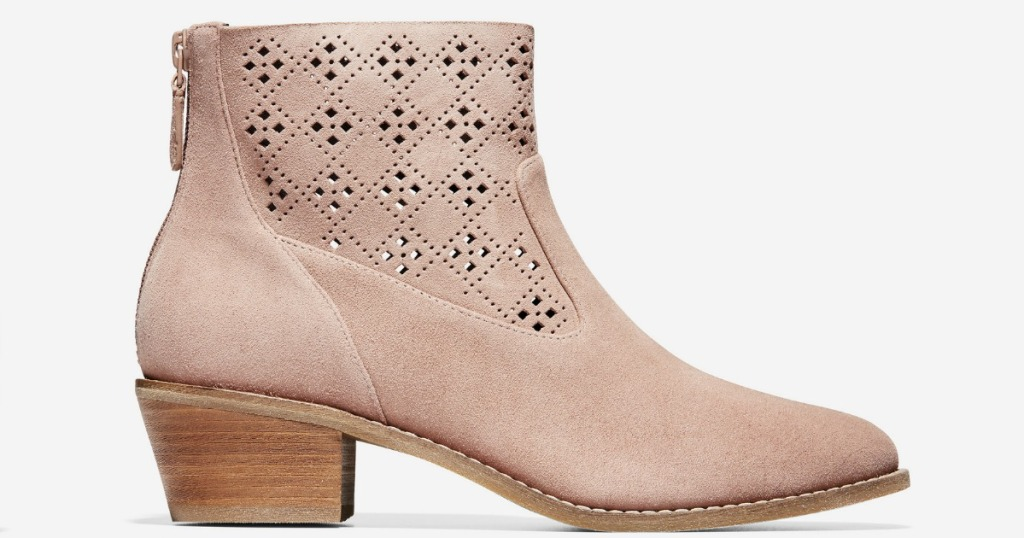 pink Cole Haan Women's Jayne Booties