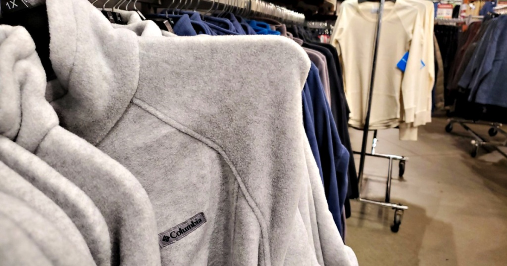 Columbia Apparel in store