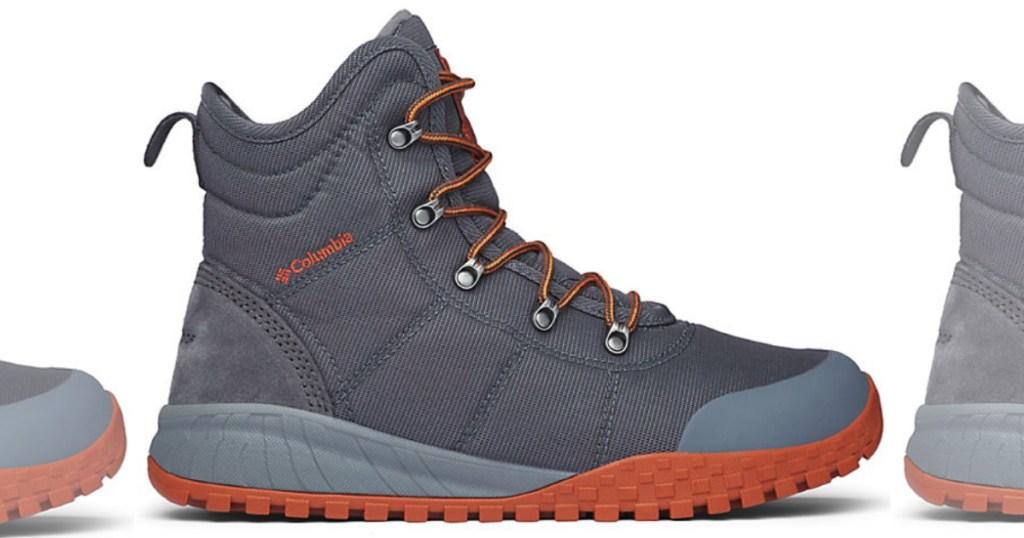 graphite Columbia Men's Fairbanks Omni-Heat Boot