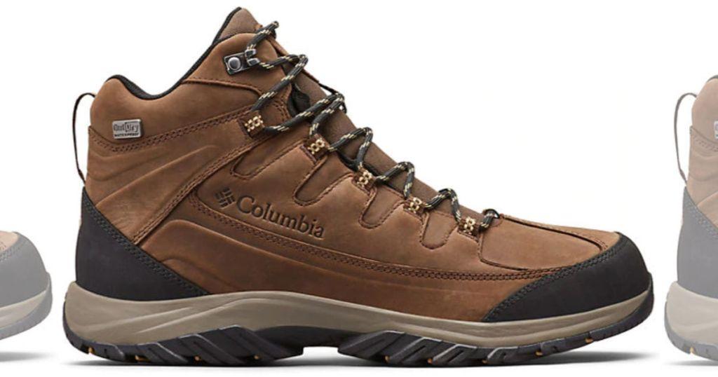 brown Columbia Men's Terrebonne II Mid OutDry Hiking Boot