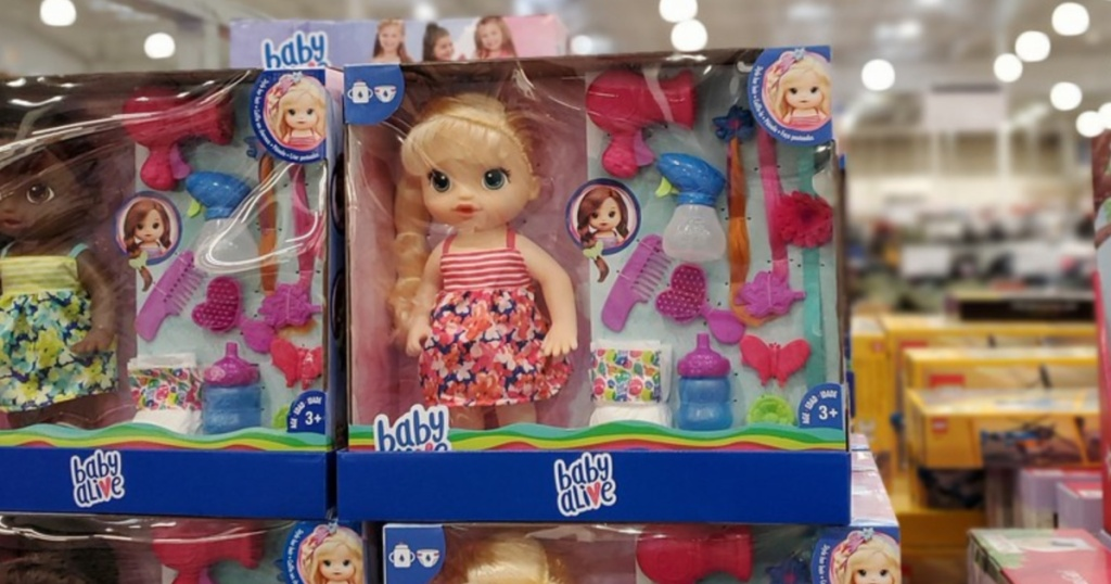 Baby Alive Hairstyles Doll at Costco