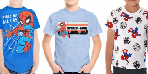 Disney & Marvel Kids Tees 4-Packs Only $5.99 Shipped on Costco.com | Just $1.50 Per Shirt