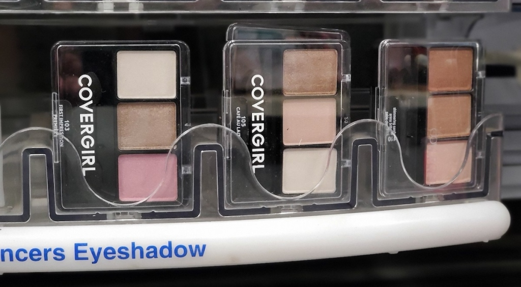CoverGirl Eyeshadow Palettes