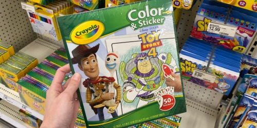 Up to 60% Off Crayola Activities on Amazon | Color & Sticker, Scrubbies, Color Wonder & More