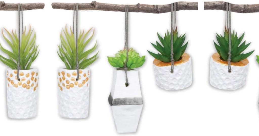 Hanging Planters on stick