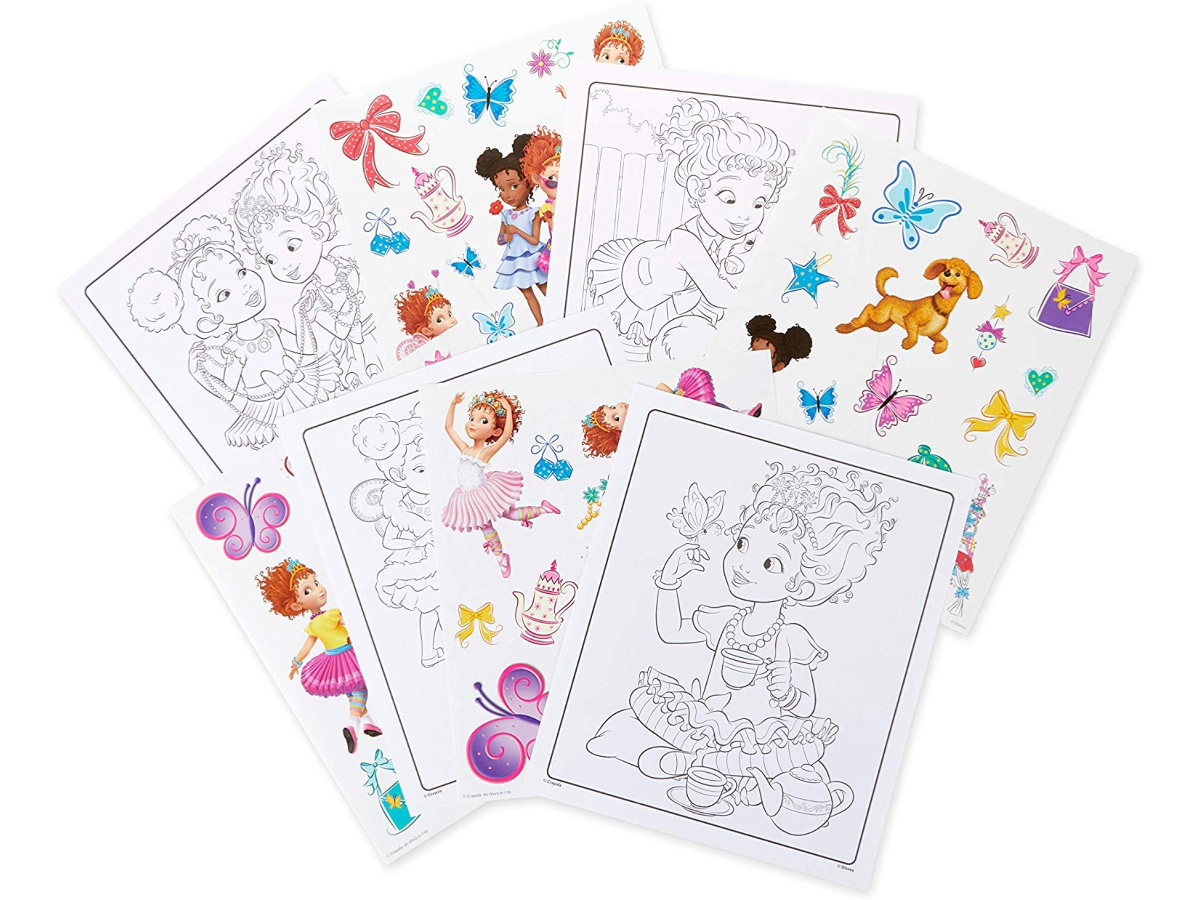 - Crayola Fancy Nancy Coloring Pages & Sticker Sheets Only $3.74 On