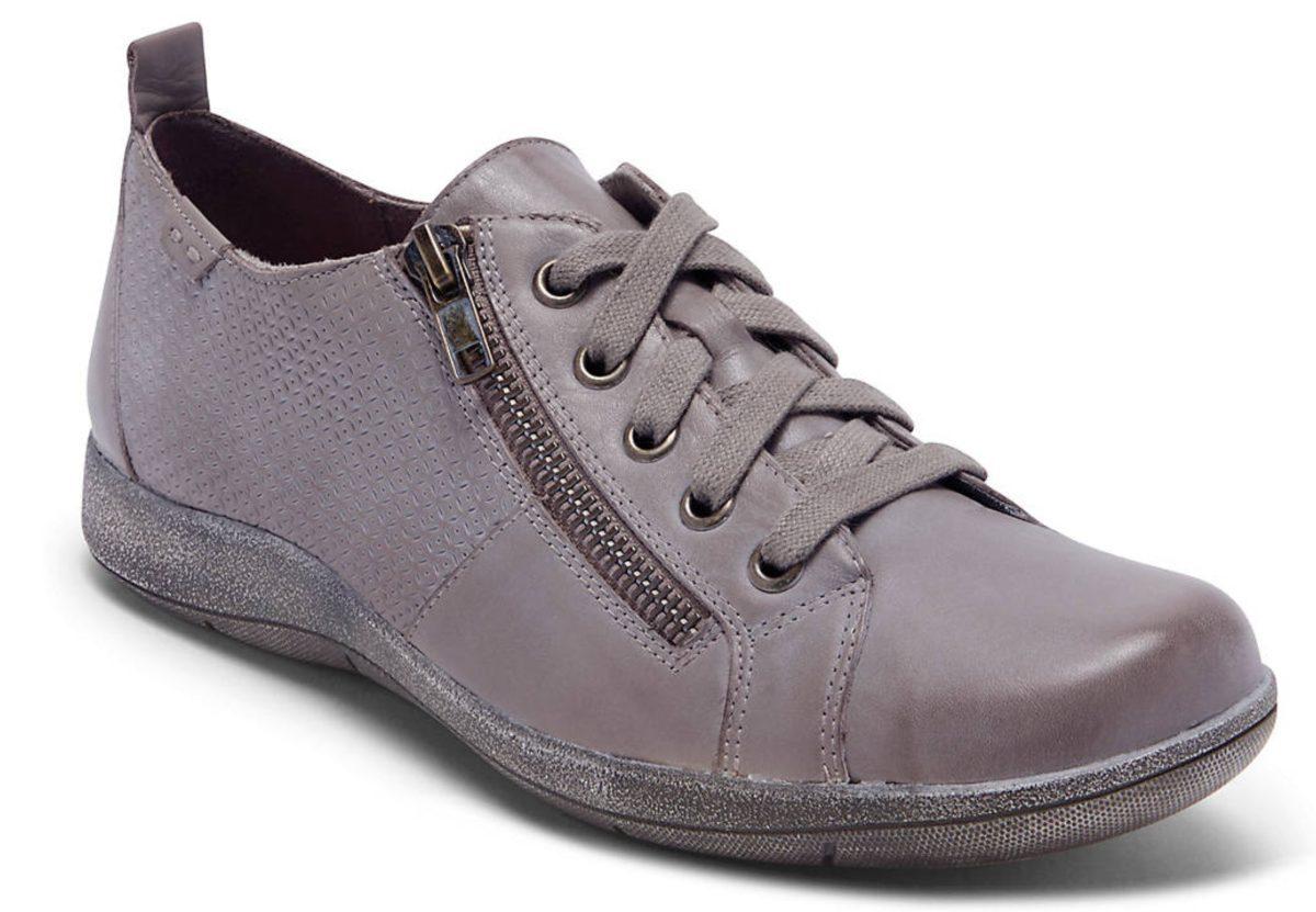women's grey casual sneaker