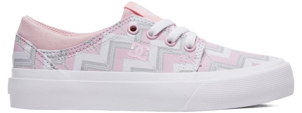 white, grey and pink shoe