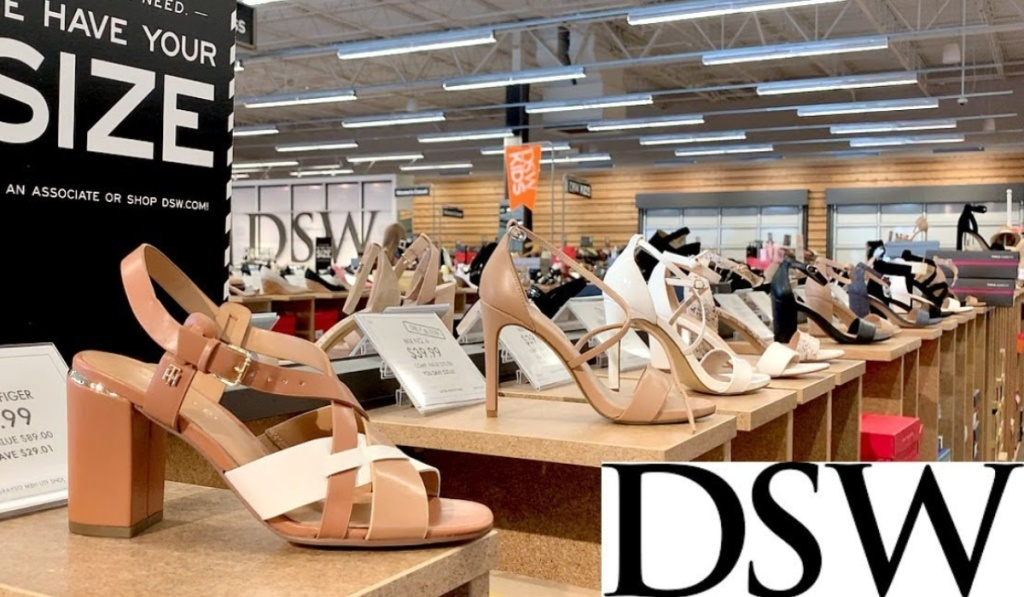 DSW shoes at store