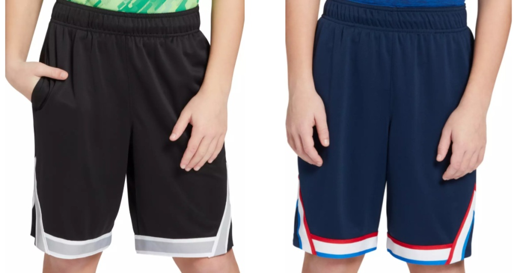Boys wearing Dicks Sporting Goods Shorts