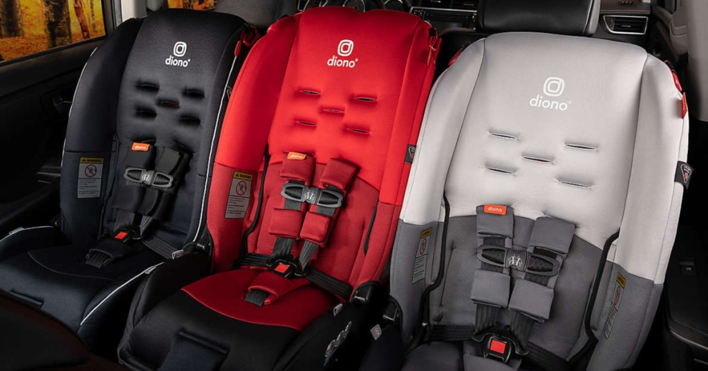 Diono Radian 3 R car seats in car