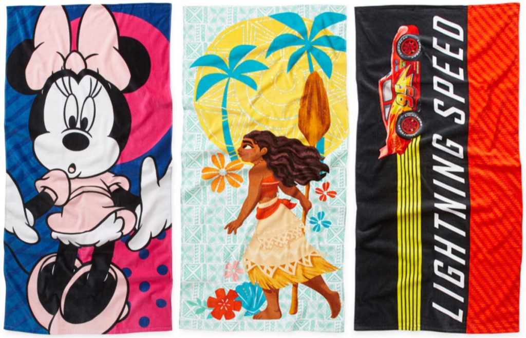 Disney Collection Beach Towels (2) (1)