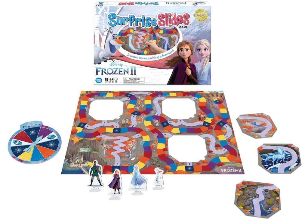 Disney Surprise Slides board game by box