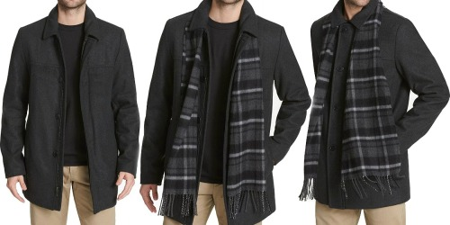 Dockers Men's Coat & Scarf as Low as $29.99 Shipped on Amazon (Regularly $80)