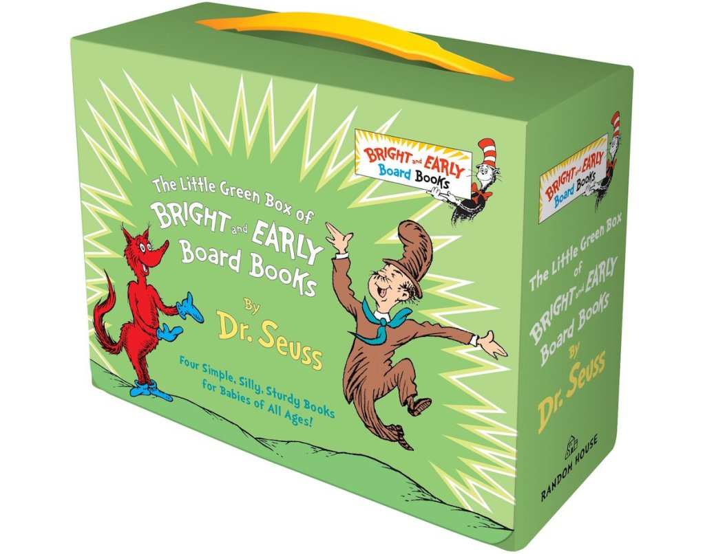 Dr. Seuss's Green Box of books