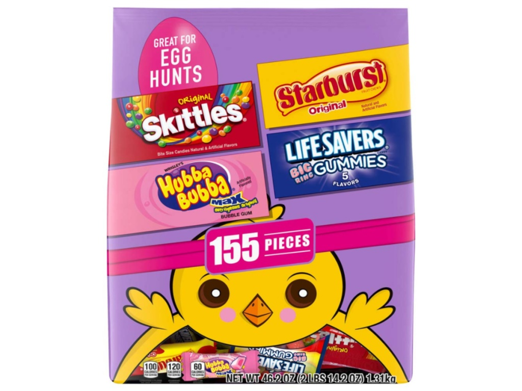 bag of assorted easter candy