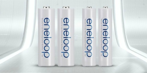 Panasonic Eneloop AAA Rechargeable Batteries 8-Pack Only $15.89 Shipped on Amazon