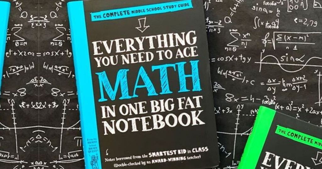 everything you need to ace math book