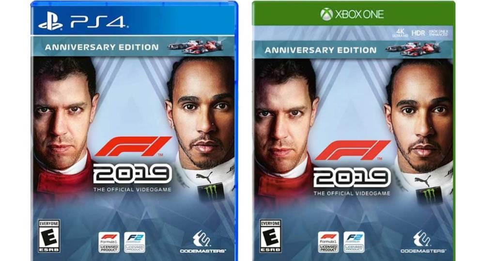 F1 Anniversary Edition game