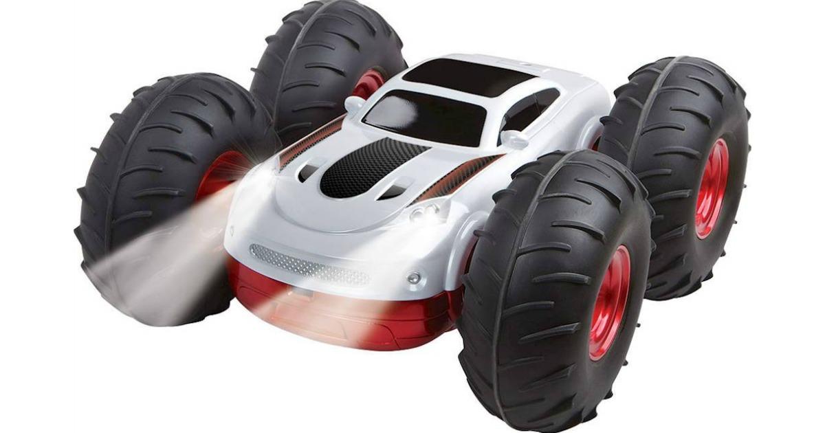 stock image of Flip Stunt Rally Car