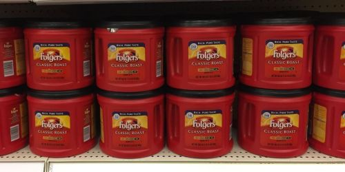 Folgers Coffee BIG 30.5oz Canister Only $5.39 Shipped on OfficeDepot.com