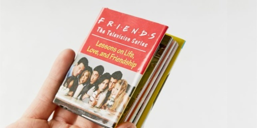 FRIENDS Lessons on Life, Love, and Friendship Book Only $2.98 on Urban Outfitters