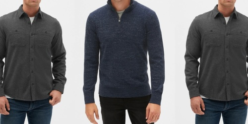 Over 75% Off Men's Apparel on The GAP Factory