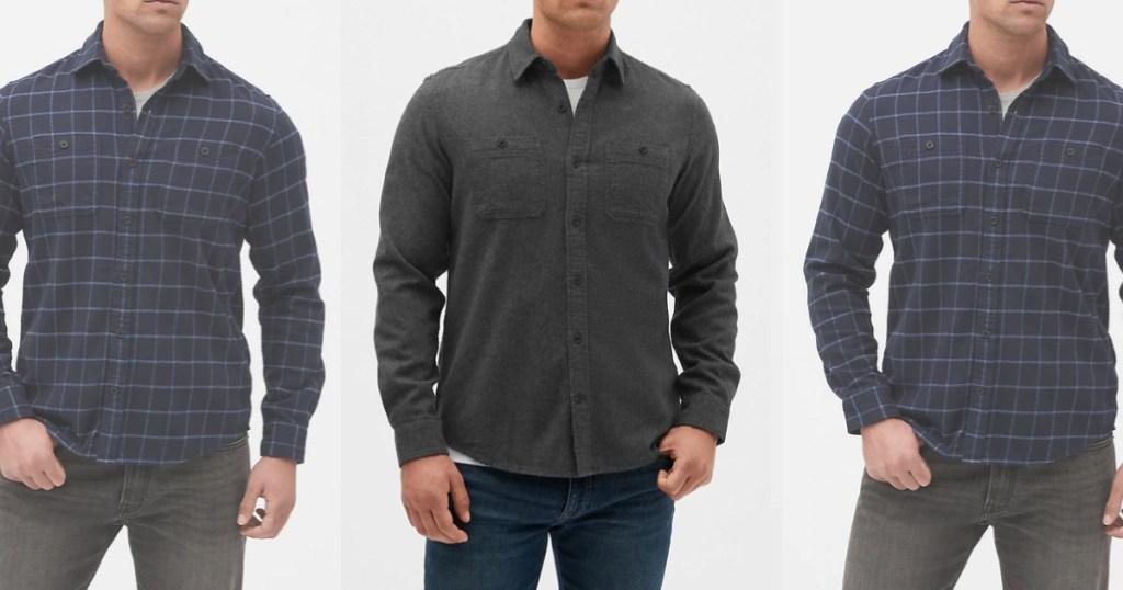 GAP mens standard fit shirts