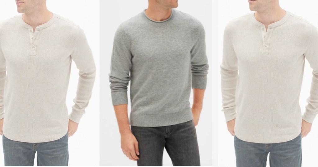 GAP mens sweaters