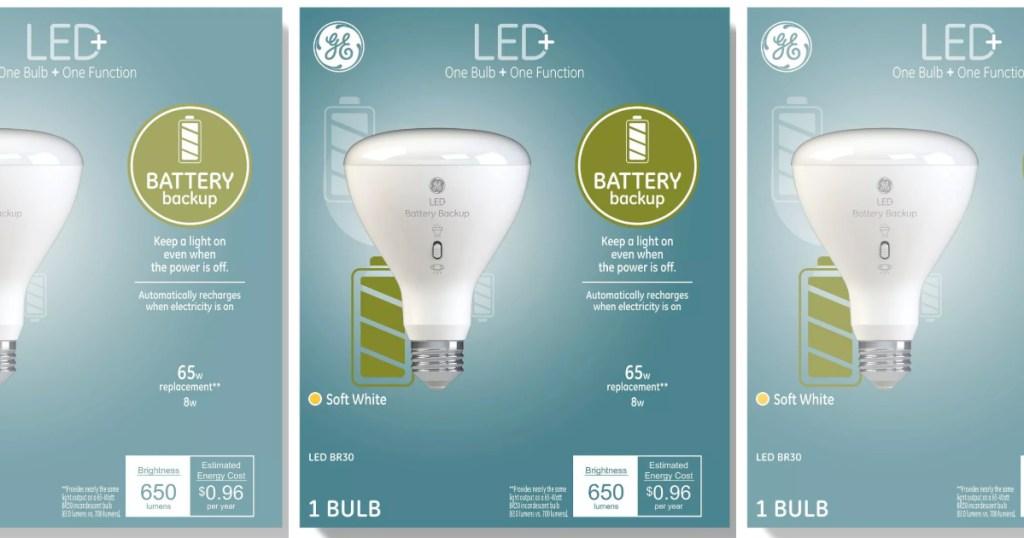 GE LED lightbulbs