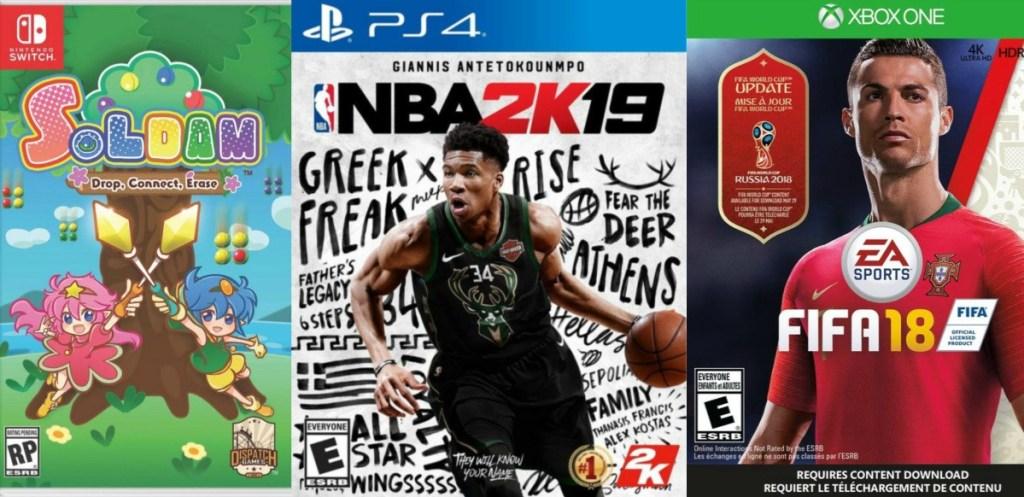 Buy 2 Get 2 Free video games at Gamestop