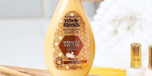 FREE Garnier Whole Blends Leave-In Treatment Sample