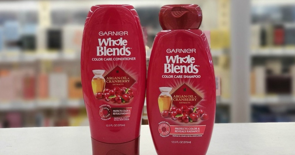 Garnier Whole Blends Shampoos