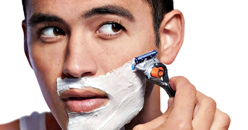 Gillette ProGlide being used by man shaving