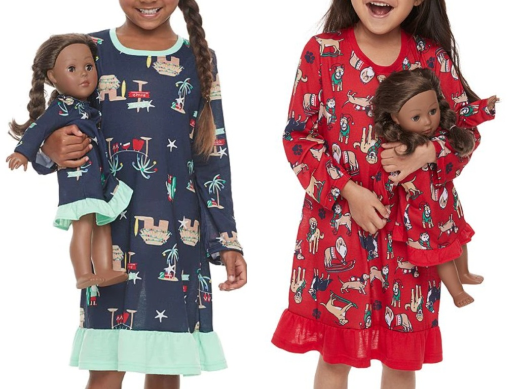 Girls Matching PJ Sets at Kohl's