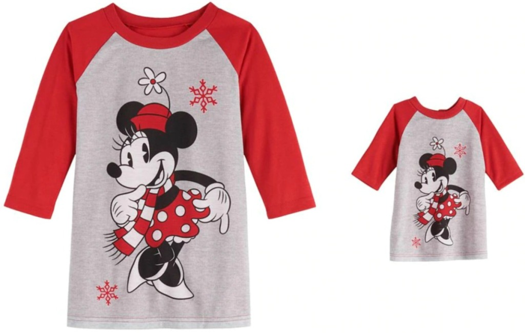 Toddler Girls Minnie Mouse Pj's