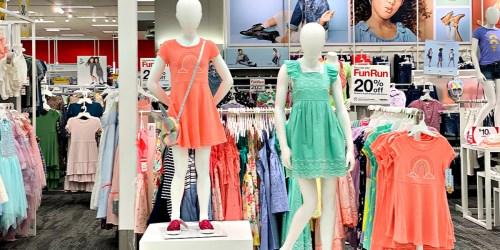 Girls Dresses as Low as $3.96 at Target
