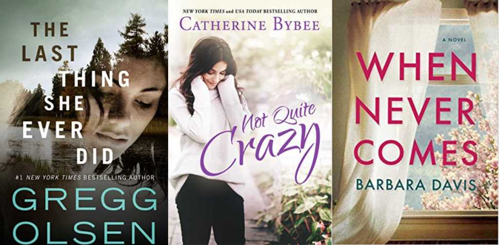 not quite crazy, the last thing she ever did, and when never comes book overs
