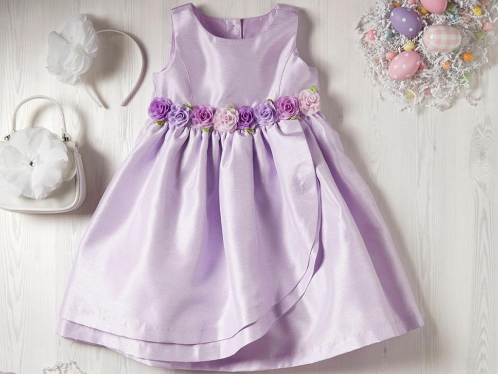 Gymboree Purple Easter with flowers